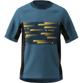 Zimtstern TechZonez SS Shirt Men, blue steel/french navy